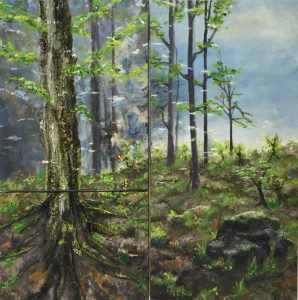 318 Troldeskoven 80x80 cm