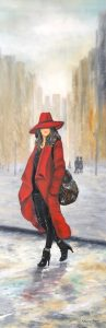 357 Lady in red 35x100 kr 3800