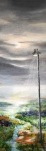 417 Turtelduer 50 x 150 cm   kr, 5000